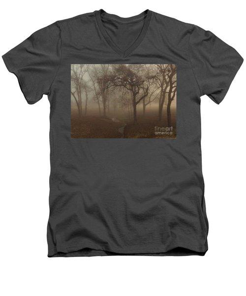 Mystic Forest 004 Men's V-Neck T-Shirt