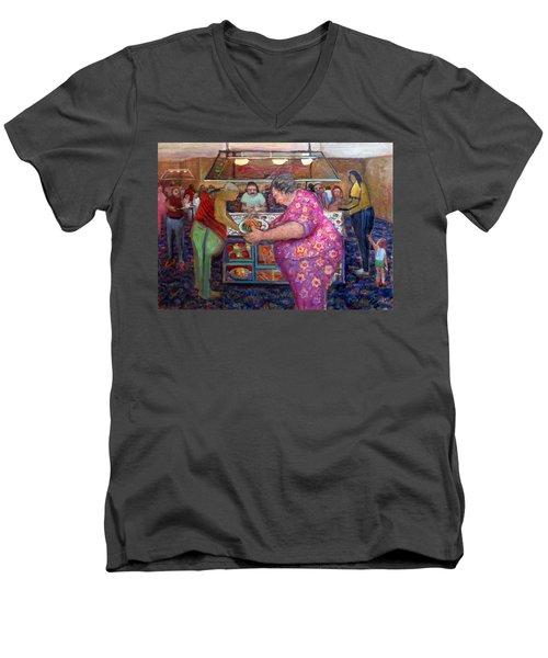 Na001 Men's V-Neck T-Shirt