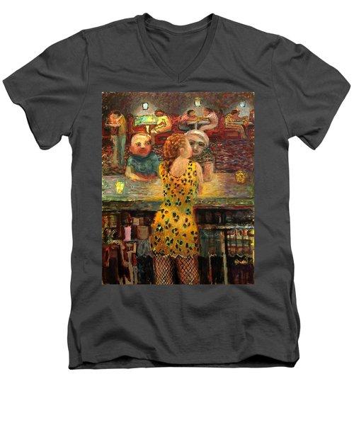 Na002 Men's V-Neck T-Shirt