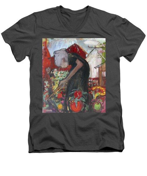 Na005 Men's V-Neck T-Shirt