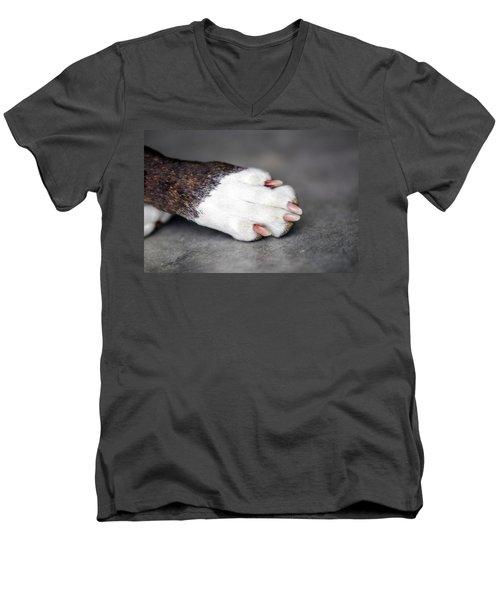 Nail Biter Men's V-Neck T-Shirt
