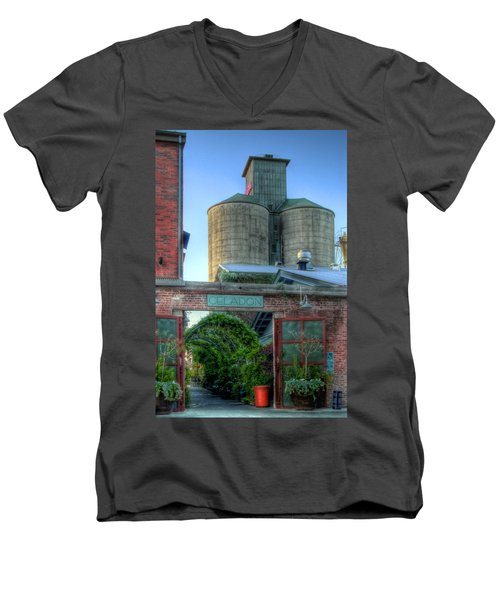 Napa Mill Men's V-Neck T-Shirt by Bill Gallagher