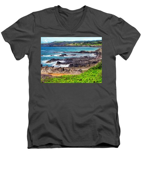 Napili 70 Men's V-Neck T-Shirt