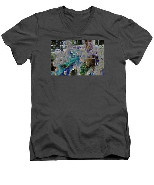 Narrative Splash Men's V-Neck T-Shirt
