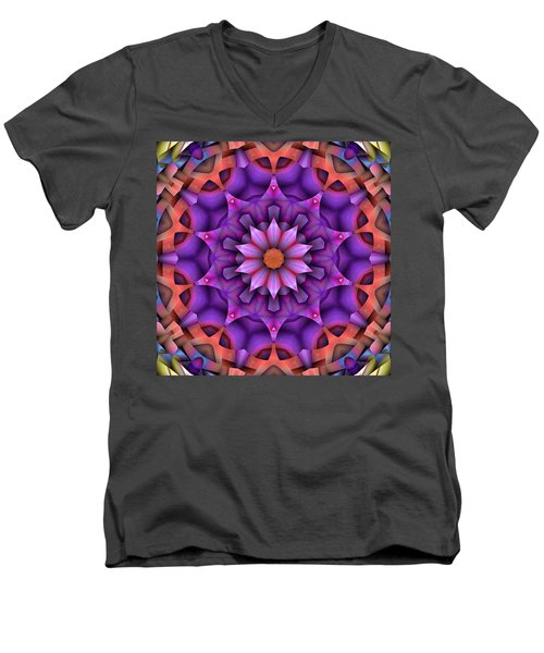 Natural Attributes 15 Square Men's V-Neck T-Shirt by Wendy J St Christopher