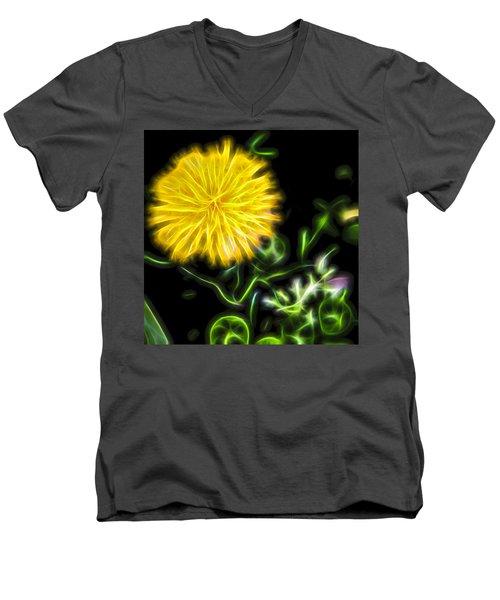 Natural Electric Beauty Men's V-Neck T-Shirt