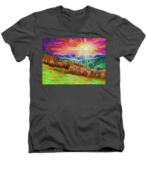 Nature 1  25 2015 Men's V-Neck T-Shirt