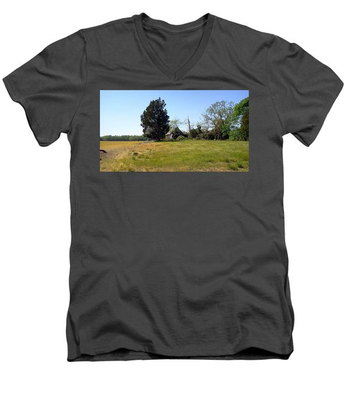 Nature Has Taken Over Men's V-Neck T-Shirt