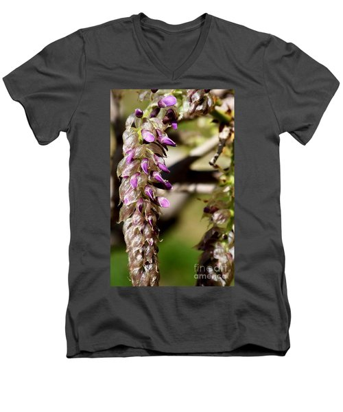 Nature Is Amazing Men's V-Neck T-Shirt by Eunice Miller