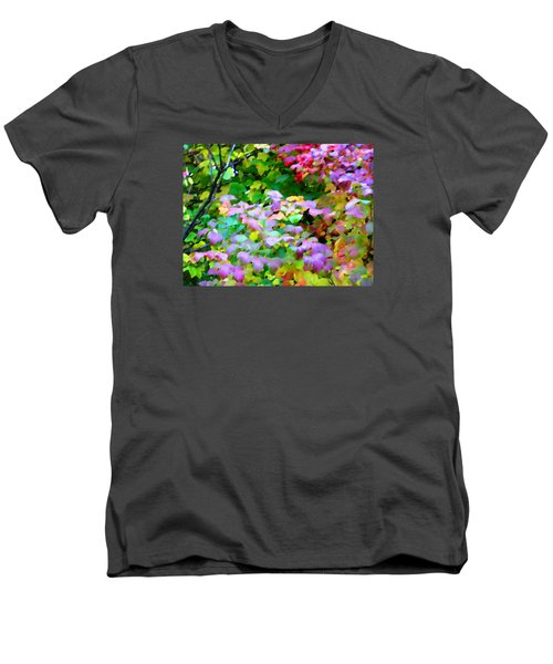Nature Spirit Men's V-Neck T-Shirt by Oleg Zavarzin