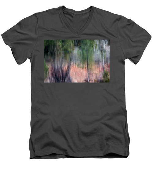 Nature's Mirror Men's V-Neck T-Shirt