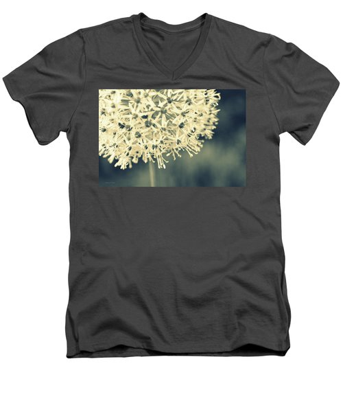 Nature's Popcorn Ball Men's V-Neck T-Shirt