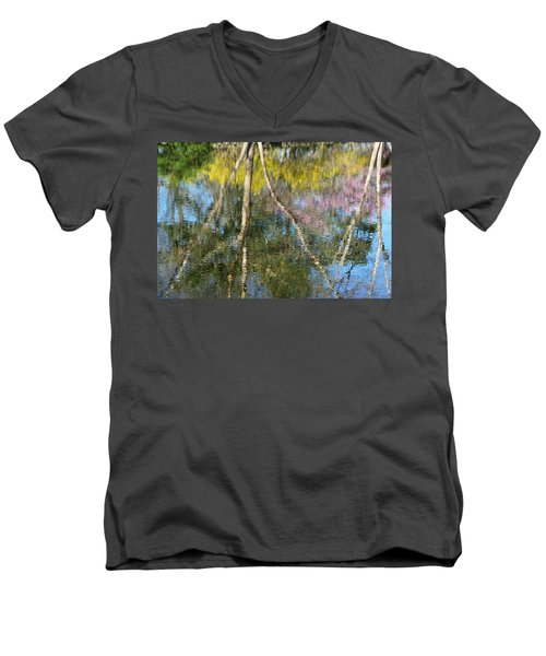 Nature's Reflections Men's V-Neck T-Shirt
