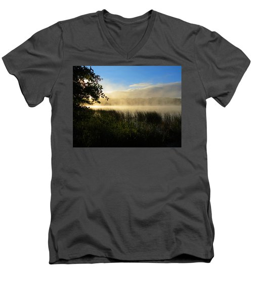 Men's V-Neck T-Shirt featuring the photograph Nature's Way by Dianne Cowen