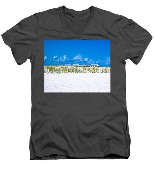 Navarre Beach Florida Men's V-Neck T-Shirt
