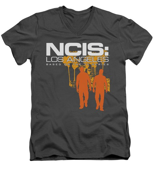 Ncis:la - Slow Walk Men's V-Neck T-Shirt