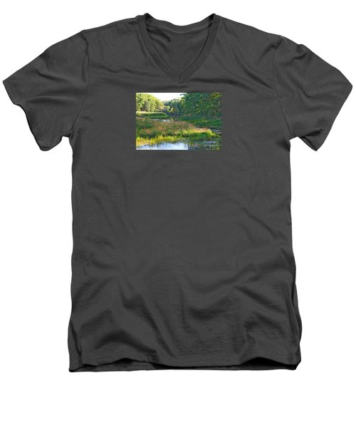 Nemasket River  Men's V-Neck T-Shirt