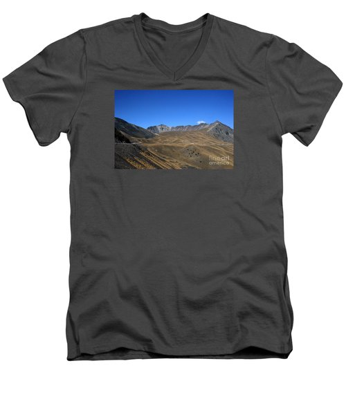 Nevado De Toluca Mexico Men's V-Neck T-Shirt
