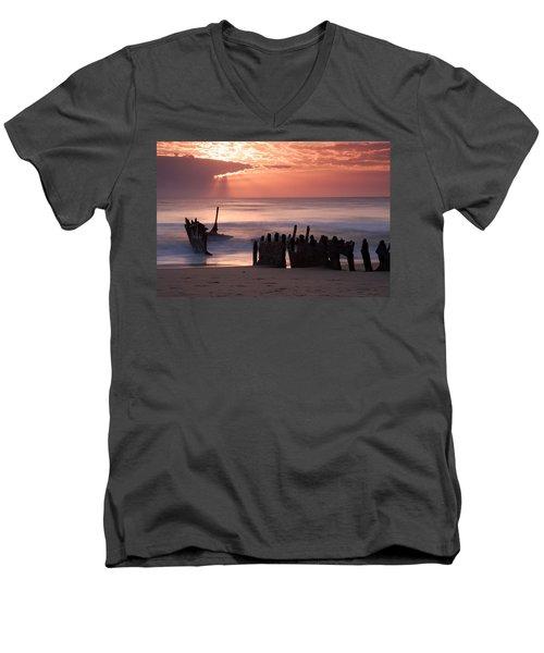 New Day Dawning Men's V-Neck T-Shirt
