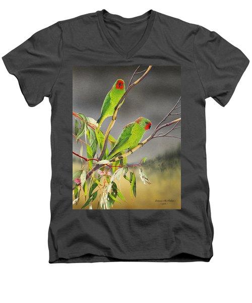 New Life - Little Lorikeets Men's V-Neck T-Shirt