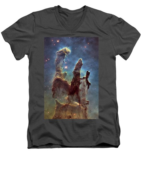 New Pillars Of Creation Hd Tall Men's V-Neck T-Shirt