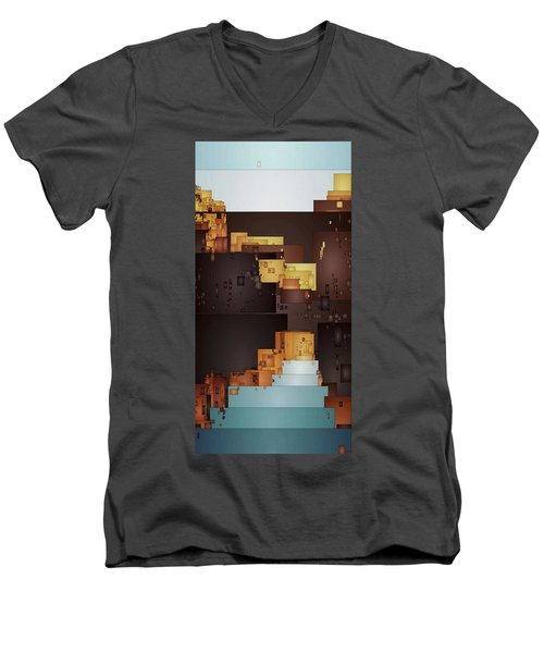 New Pueblo 1 Men's V-Neck T-Shirt