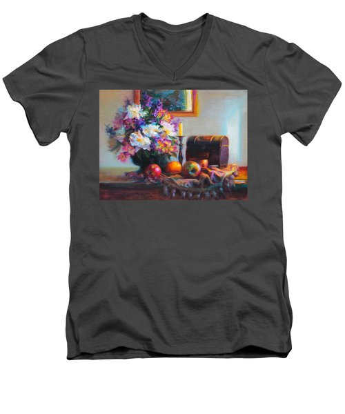New Reflections Men's V-Neck T-Shirt