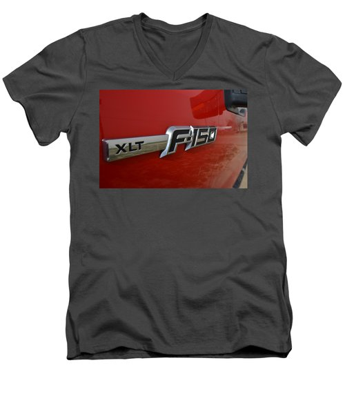 New Ride Men's V-Neck T-Shirt