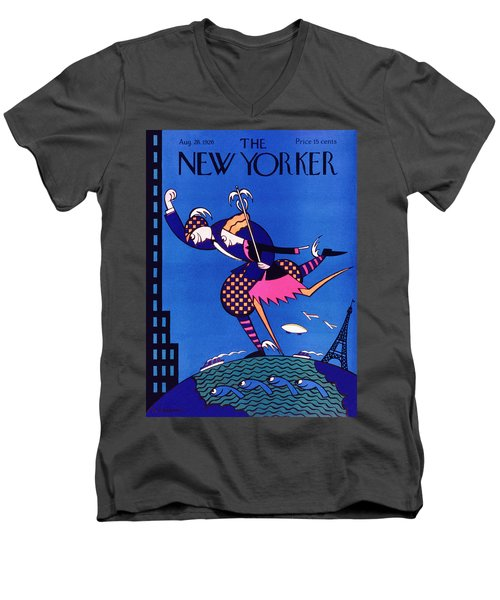 New Yorker August 28 1926 Men's V-Neck T-Shirt