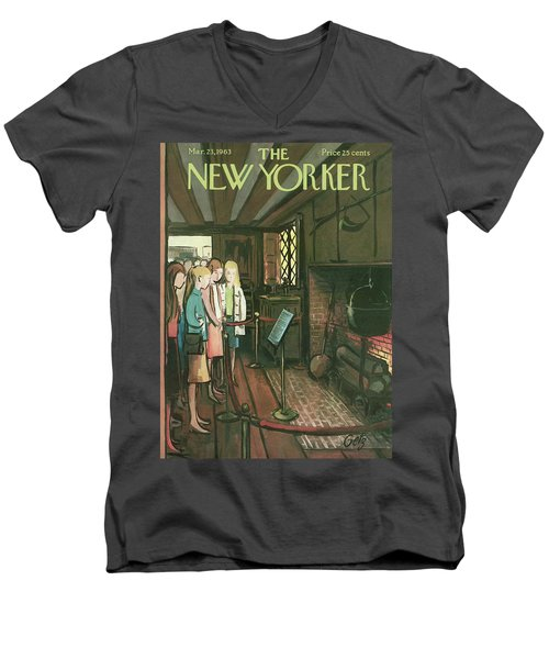 New Yorker March 23rd, 1963 Men's V-Neck T-Shirt