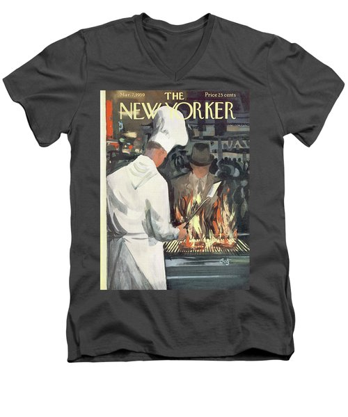 New Yorker March 7th, 1959 Men's V-Neck T-Shirt