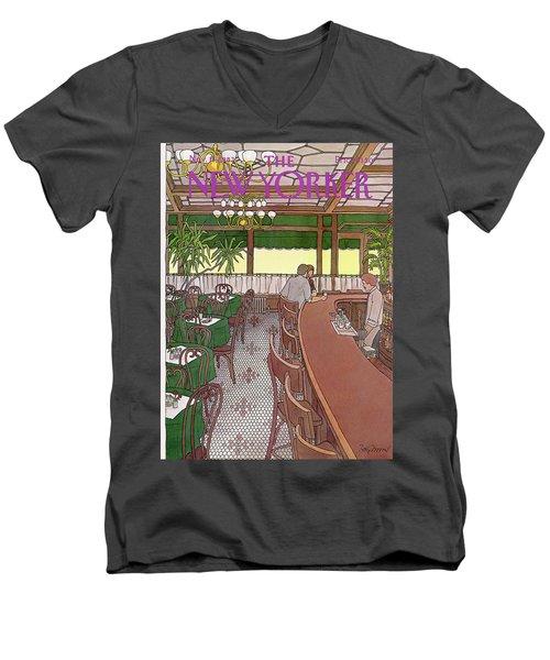 New Yorker November 15th, 1982 Men's V-Neck T-Shirt