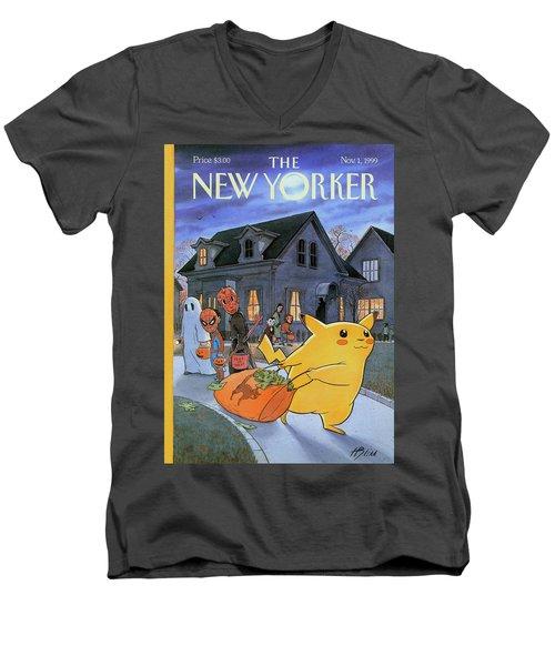 New Yorker November 1st, 1999 Men's V-Neck T-Shirt