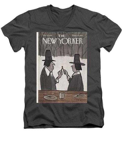 New Yorker November 25th, 1967 Men's V-Neck T-Shirt