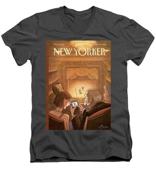 New Yorker October 19th, 1998 Men's V-Neck T-Shirt