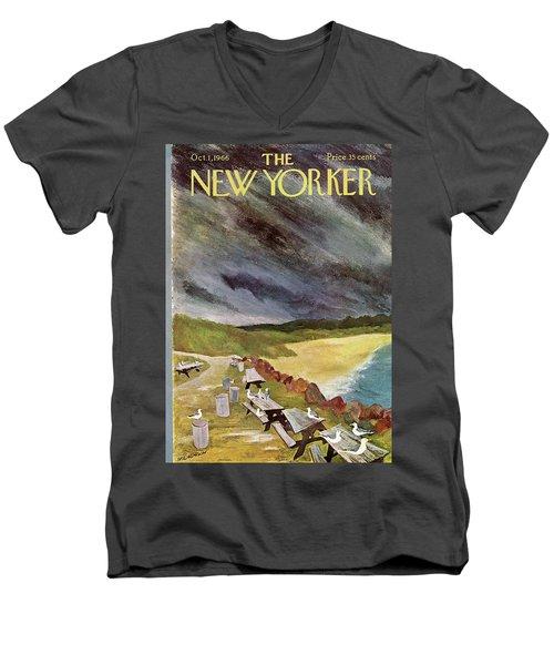New Yorker October 1st, 1966 Men's V-Neck T-Shirt