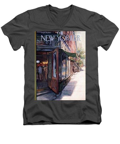 New Yorker September 29th, 1956 Men's V-Neck T-Shirt
