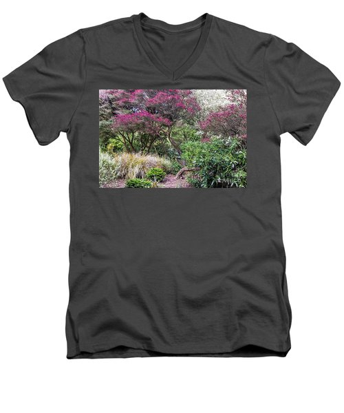 New Zealand Tea Tree II Men's V-Neck T-Shirt