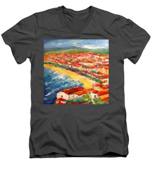 Nice La Belle Men's V-Neck T-Shirt
