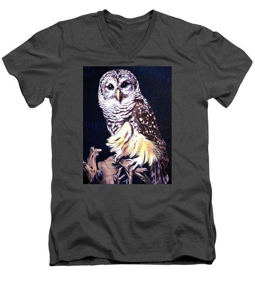 Night Owl Men's V-Neck T-Shirt