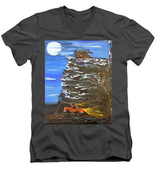 Night Shack Men's V-Neck T-Shirt