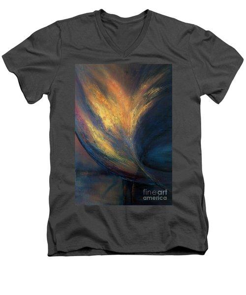 Night Vision Men's V-Neck T-Shirt by Valerie Travers