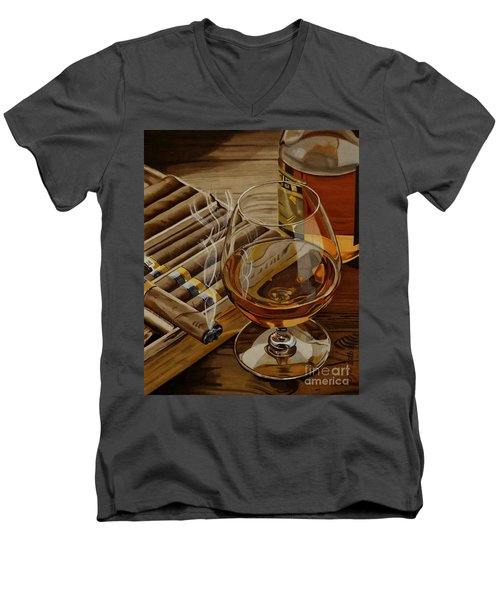 Nightcap Men's V-Neck T-Shirt