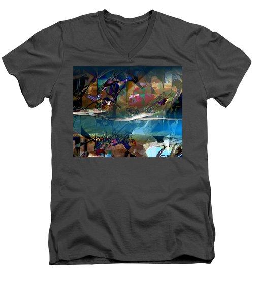 Nightingale Men's V-Neck T-Shirt