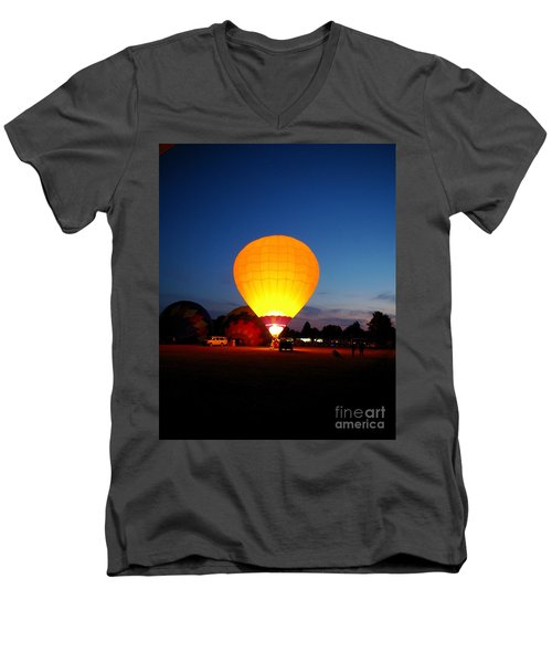 Night's Sunshine Men's V-Neck T-Shirt