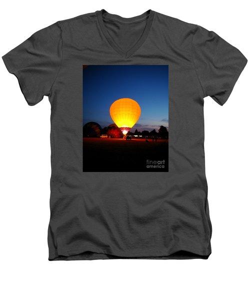 Night's Sunshine Men's V-Neck T-Shirt