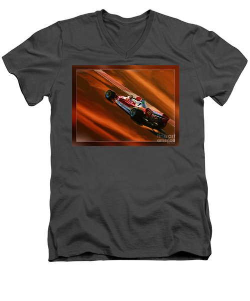 Niki Lauda's Ferrari Men's V-Neck T-Shirt