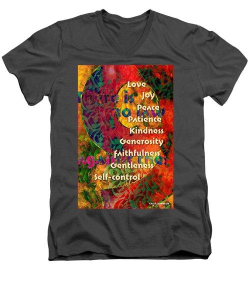 Nine Gifts Men's V-Neck T-Shirt