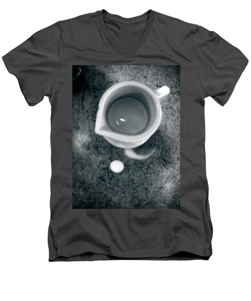 No Cream For My Coffee Men's V-Neck T-Shirt