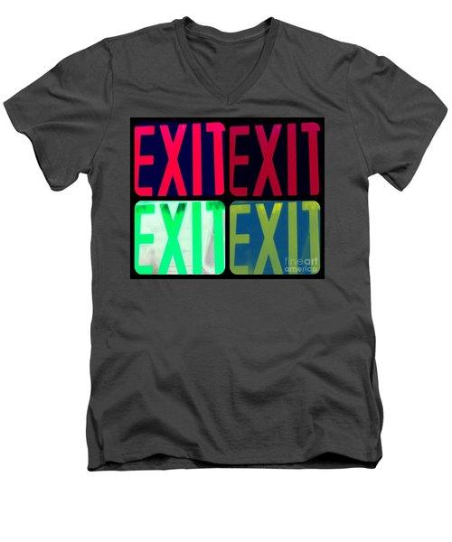 No Exit Men's V-Neck T-Shirt